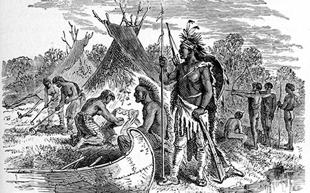 "native americans and european colonists A civil rights history: native americans  the european colonists called the natives ""indians,"" a mistake dating back to 1492 when christopher columbus."