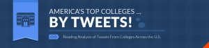 Reading analysis of tweets from colleges across the United States
